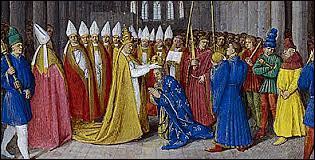 En quelle année a eu lieu le sacre de Charlemagne ?