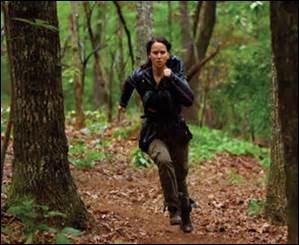 Qui a sauvé Katniss des guêpes ?