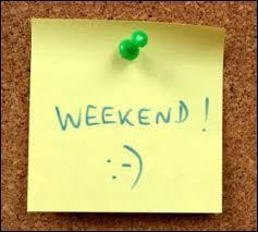 De combien de jours le week-end est-il composé ?