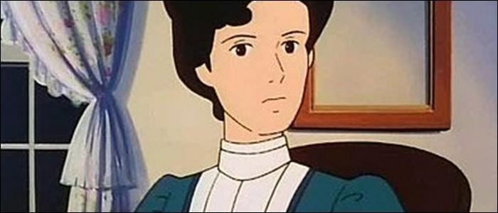 De qui Polly Harrington est-elle la tante froide et autoritaire ?