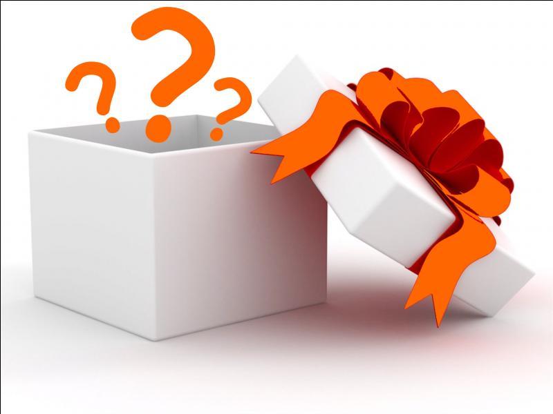 Tu achètes un cadeau à ton amie, quoi ?