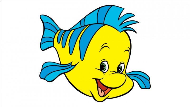 """Dans """"La petite Sirène"""", comment s'appelle l'ami poisson d'Ariel?"""