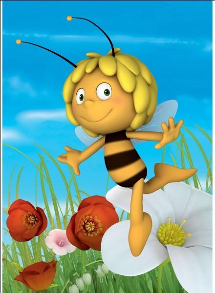 Souvenez-vous du nom de l'insecte qu'est Maya. Que dit-elle ?