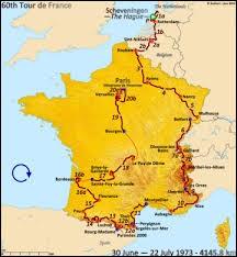 Qui a remporté le « Tour de France » en 1973 devant Bernard Thévenet ?