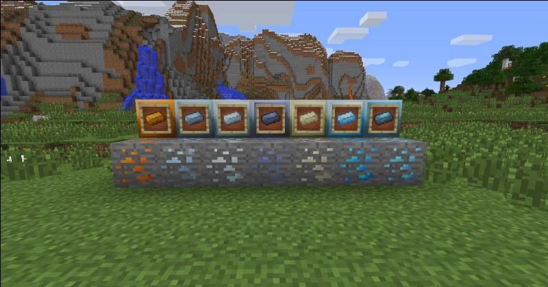 Combien y a-t-il de minerais dans Minecraft ? (La pierre compte)
