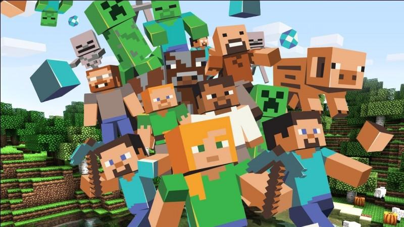 Combien y a-t-il de mobs dans Minecraft ? (Les animaux sont des mobs)