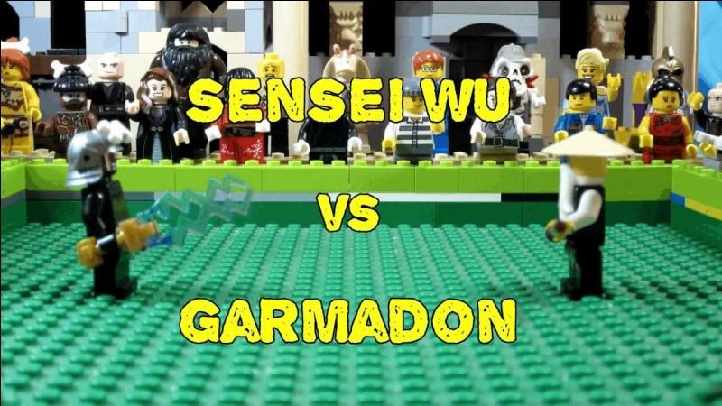 Quel est le lien de parenté entre Lord Garmadon et sensei Wu ?