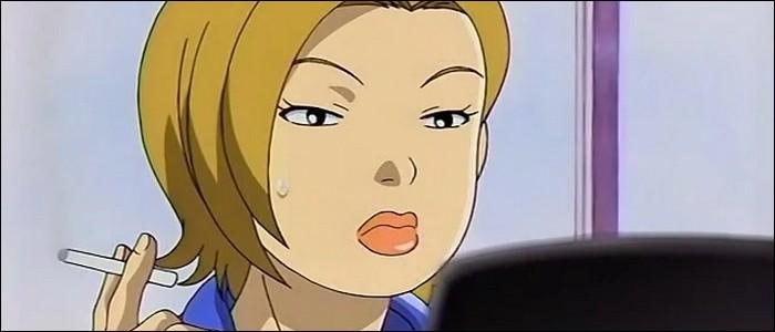 """Shizuka Fujiyama est une professeur sexy qui aime séduire de beaux jeunes hommes.Elle est l'une des collègues de """"Yankumi"""", une prof de maths issue d'un milieu de yakuzas, dans cet anime appelé :"""