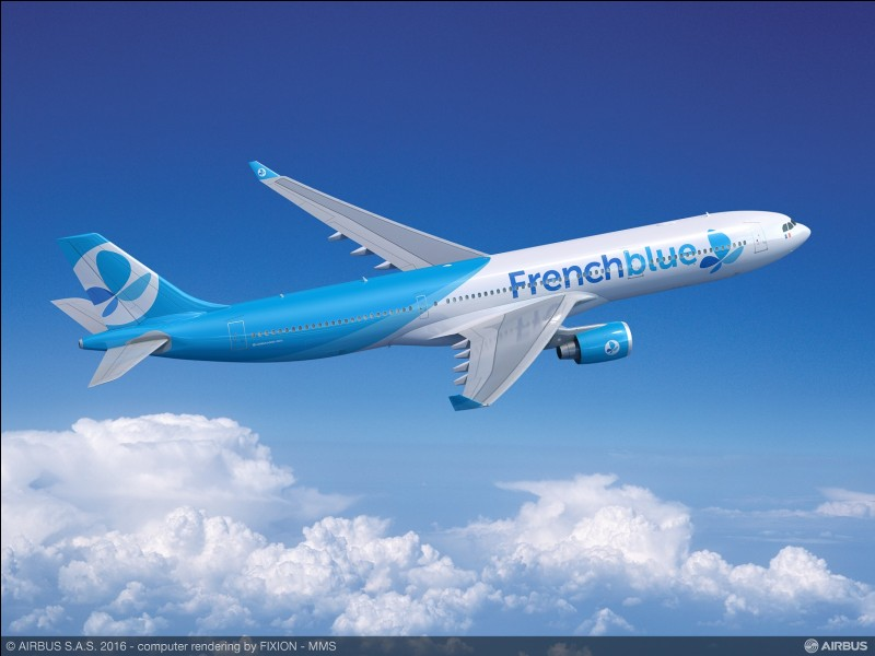 """Il y a combien de classes dans la compagnie """"FrenchBlue"""" ?"""