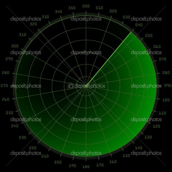 Comment s'appelle l'écran sur lequel le contrôleur voit tous les avions dans la zone d'atterrissage ou de décollage ?