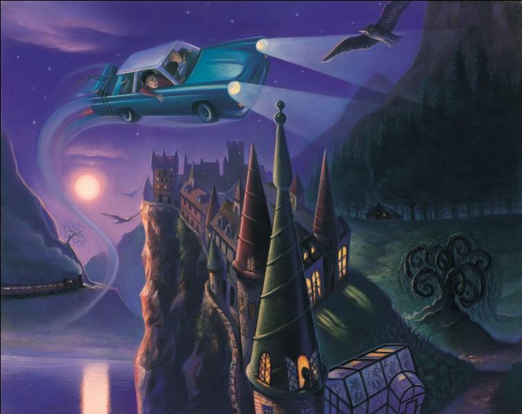 L'une des voitures volantes utilisées dans HP2 a été volée.