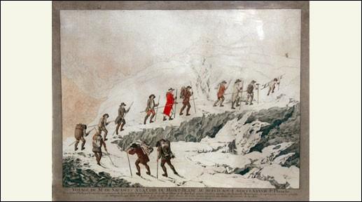 Naturaliste genevois découvreur des Alpes. Il gravit le mont Blanc en 1787 avec Jacques Balmat.
