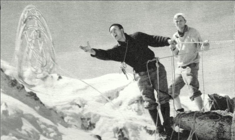 """Alpiniste qui forma une cordée avec Louis Lachenal. Gravissant l'Annapurna ou l'Eiger, il a écrit """"Les Conquérants de l'inutile""""."""