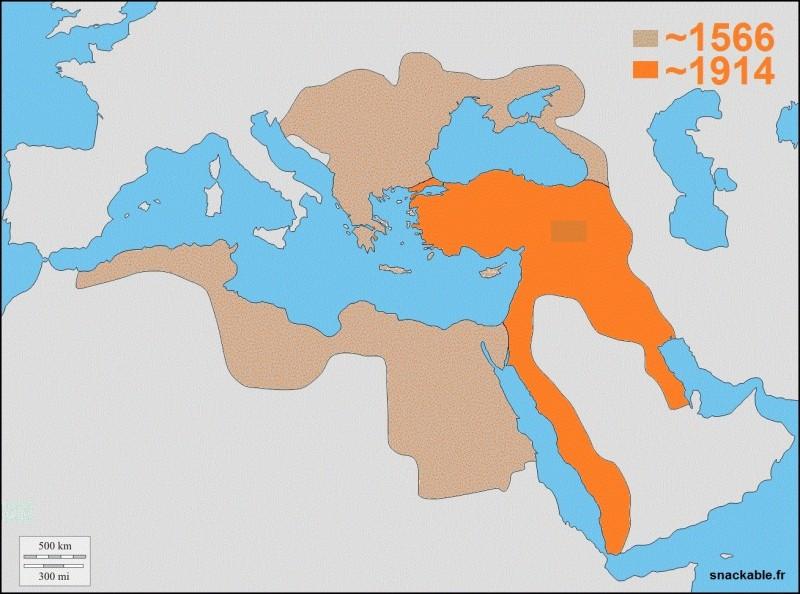 Que se passe-t-il dans l'Empire ottoman en 1915 ?