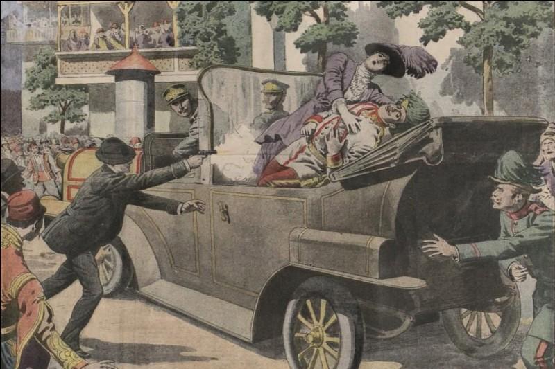 Quel événement déclencha la Première Guerre mondiale ?