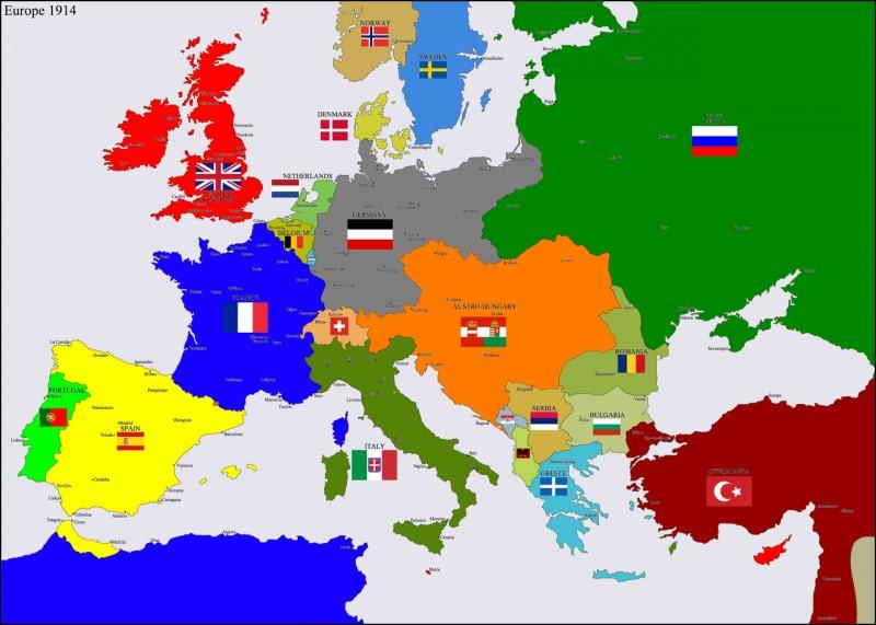 Quels sont les trois pays formant la Triple Alliance au début de la guerre ?