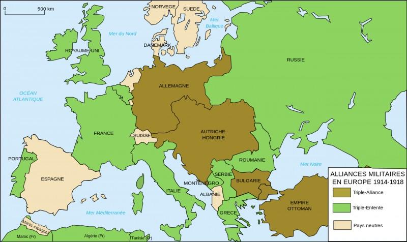 La Triple Entente et la Triple Alliance sont-elles deux alliances défensives ?