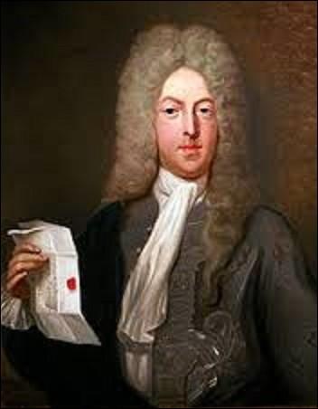 À la mort de Louis XIV, les caisses étaient vides et les revenus des deux années à venir déjà dépensés. En 1716, le régent prêta alors l'oreille à l'idée d'un économiste écossais. Le but était de développer du papier-monnaie plutôt que de l'espèce métallique afin de faciliter le commerce et l'investissement et de résoudre la dette laissée par l'ancien roi. Qui est cet économiste ?
