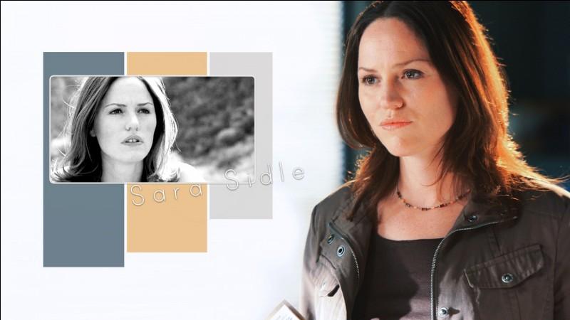 Qui joue le personnage de Sara Sidle