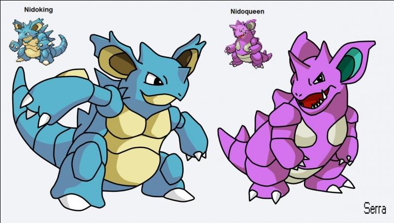 Comment ou quand débloque-t-on Nidoqueen ou Nidoking ?