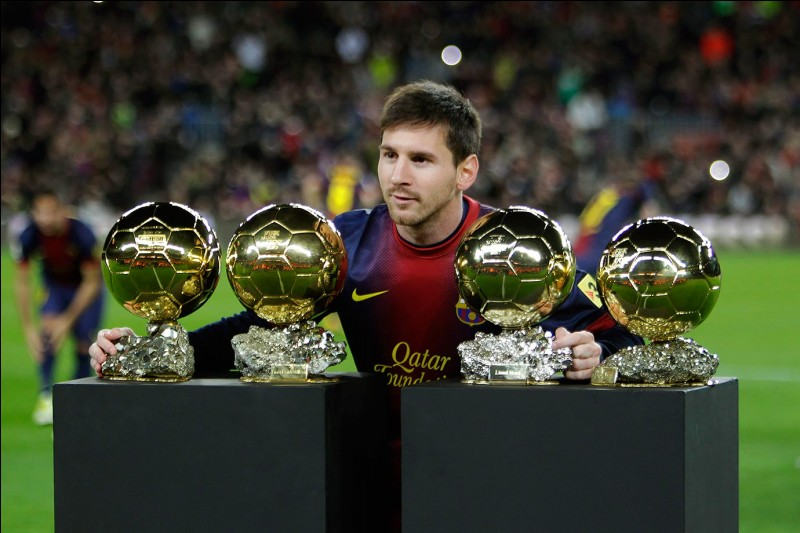 Son vrai nom est Lionel Andrés Messi Cucitini.