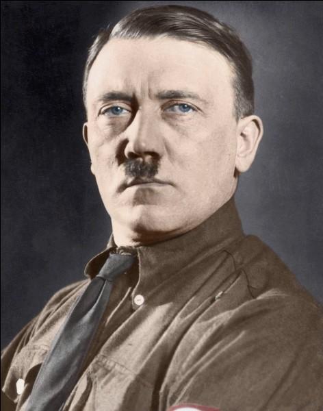 """Qui a-t-on appelé le """"Führer"""" ?"""