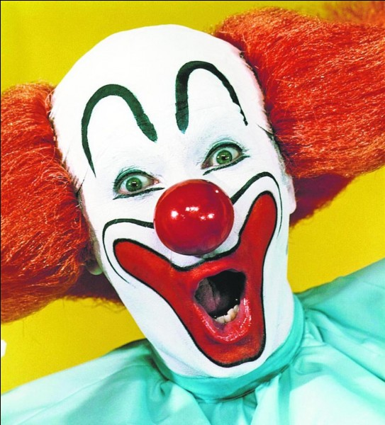 Quelle est cette personne chargée d'amuser les petits au cirque ?