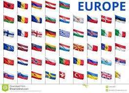 Drapeaux de pays de l'Europe : réponses en images
