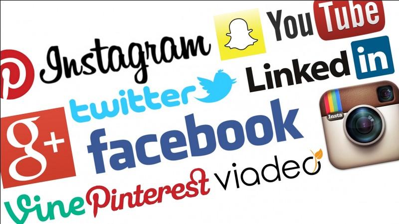 Sur quel réseau social est-il le plus actif ?