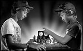 C'est l'annonce d'un joueur d'échec, après un coup décisif ; il s'agit de...