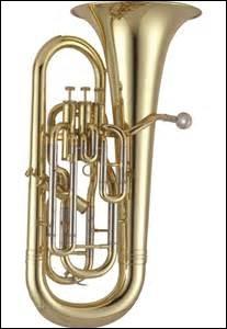 C'est un instrument à vent de la famille des saxhorns, proche du clairon ; il s'agit du...