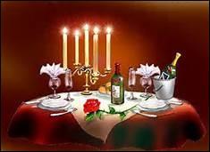 Comment appelle-t-on un dîner en amoureux ?