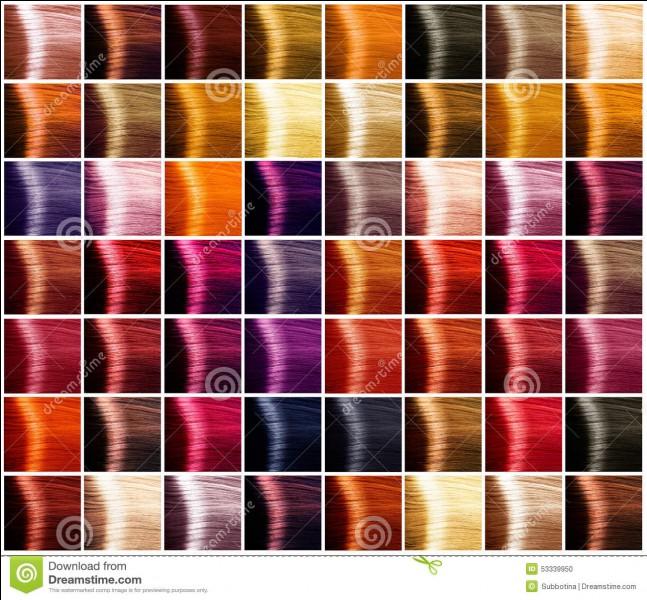 De quelle couleur tes cheveux sont-ils ?