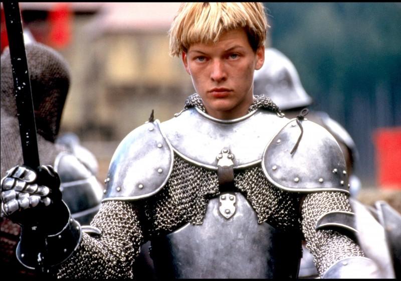 Quand elle montait à l'assaut, Jeanne d'Arc faisait très attention a sa petite cotte de maille !