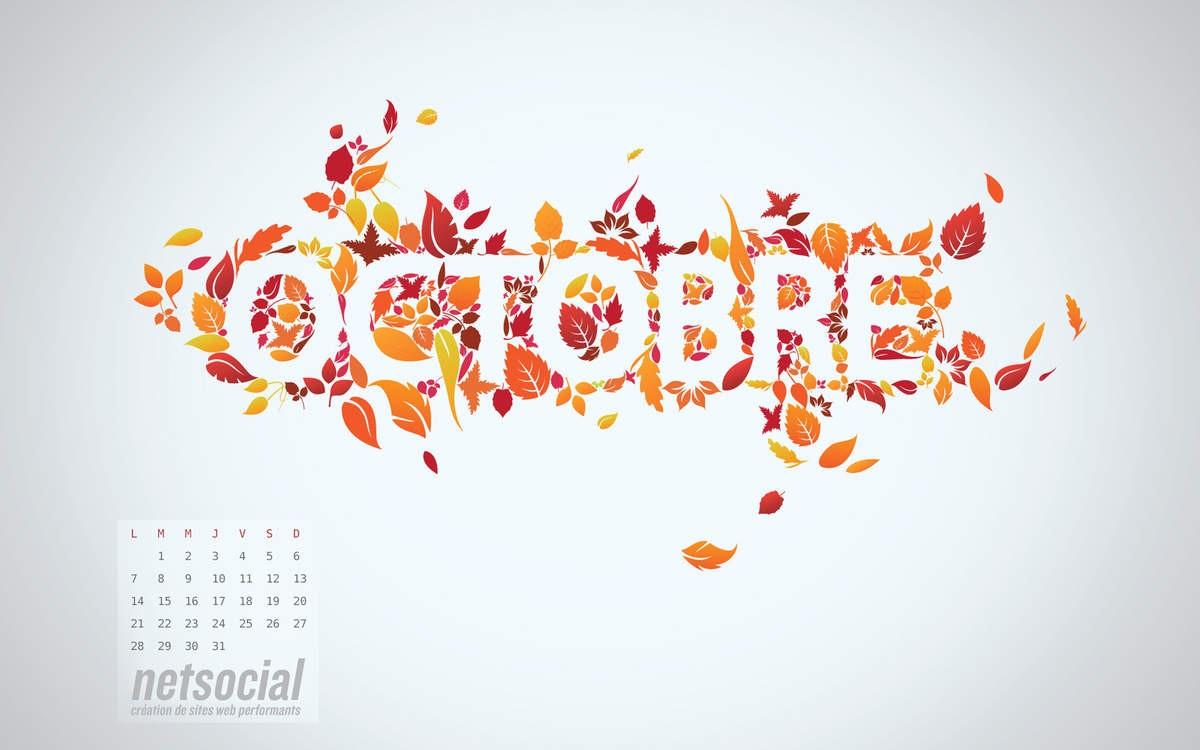 Le mois d'octobre