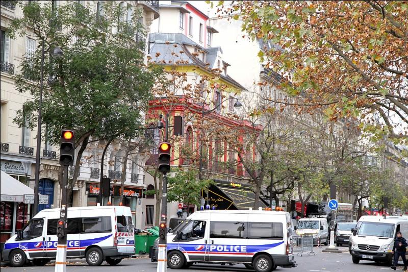 La même année un autre attentat touche le Bataclan. En quel mois ?