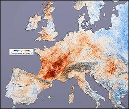 Une grande canicule a eu lieu en 2003, elle a causé des bouleversements à toutes les échelles. Au sud du Portugal, dans l'Alentejo, on enregistre une température record de...