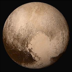 Depuis quelle année Pluton n'est plus une planète ?