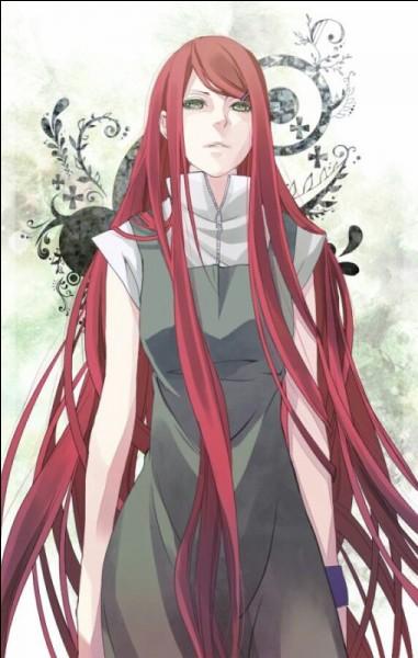 Cette femme à la longue chevelure rouge se nomme :