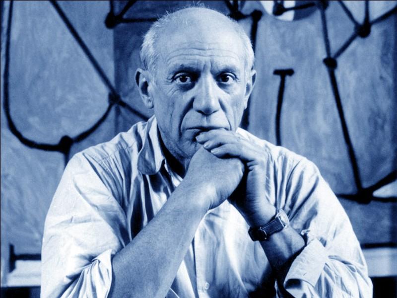 De quoi, le peintre Pablo Picasso est-il mort à l'âge de 91 ans ?