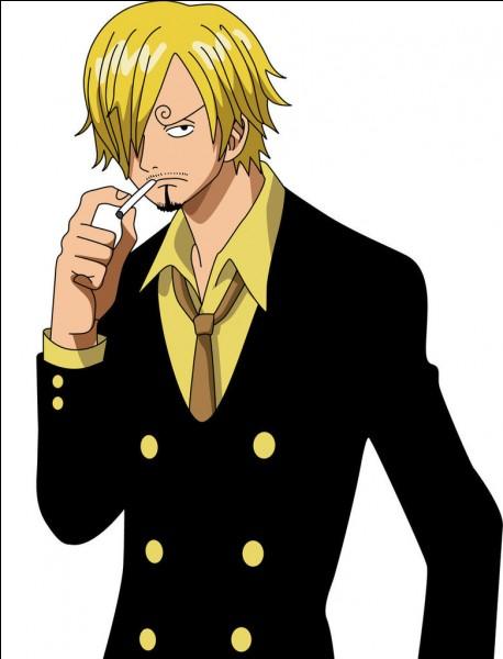 Quel poste Sanji occupe-t-il dans l'équipage de Luffy ?