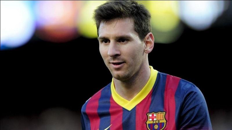 Cliquez sur l'âge de Lionel Messi en 2016.