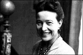 """Simone de Beauvoir était surnommée """"le castor""""."""