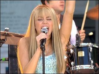 Hannah donne un concert ; mais quel est ce concert ?