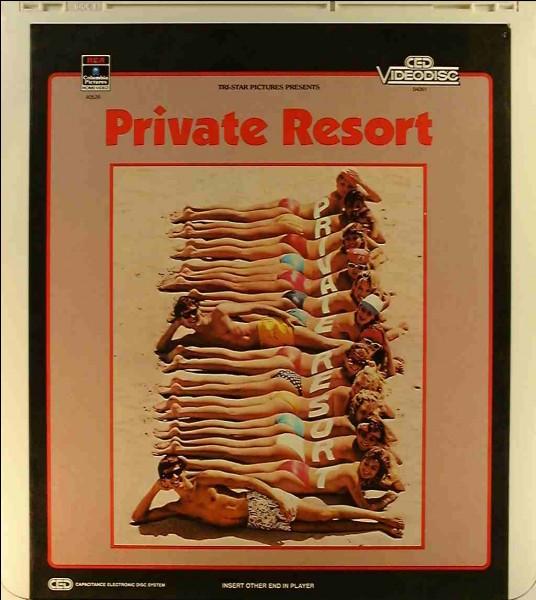 Le premier film dans lequel il a joué est Private Resort.