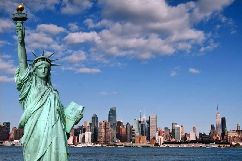 En quelle année la statue de la Liberté a-t-elle été construite ?
