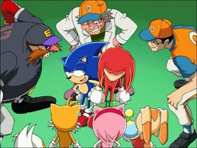 Au début de la série, Sonic et ses amis atterrissent sur la planète Terre ; mais comment ?