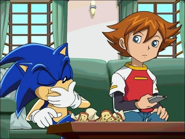Sonic rencontre un jeune garçon du nom de Chris avec qui il va devenir très ami ; mais comment se sont-ils rencontrés ?