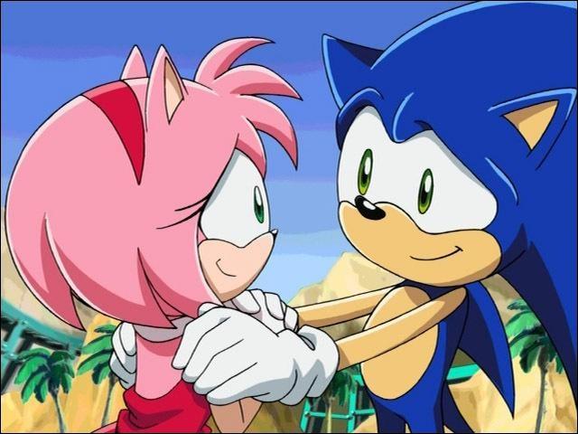 """Dans l'épisode 9 """"Coquillages et Crustacés"""", Amy offre un cadeau à Sonic ; qu'est-ce que c'est ?Et qu'arrive-t-il à son cadeau ?"""