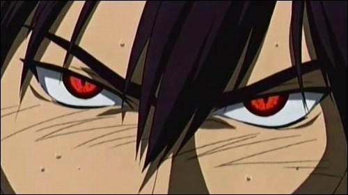 A qui appartiennent ces yeux rouges ?